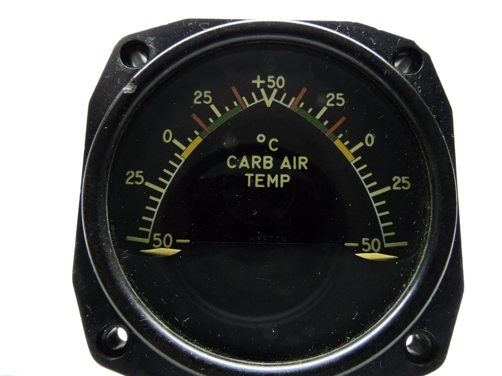 Carburetor Air Temperature Indicator, Dual Engine, Weston, C-46 Commando