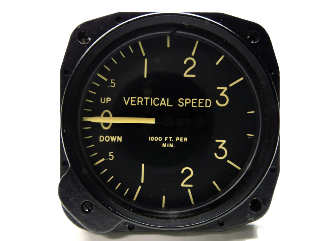 Rate of Climb/Vertical Air Speed Indicator 0-3000 Ft/Min Aerosonic RC-30-V HH-3F
