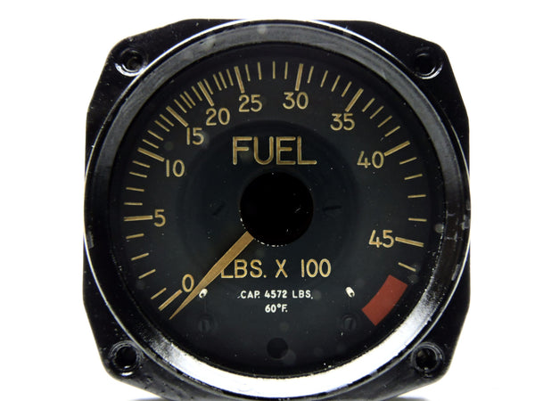 Fuel Quantity Indicator, Simmonds Pacitor 0-4572 lbs