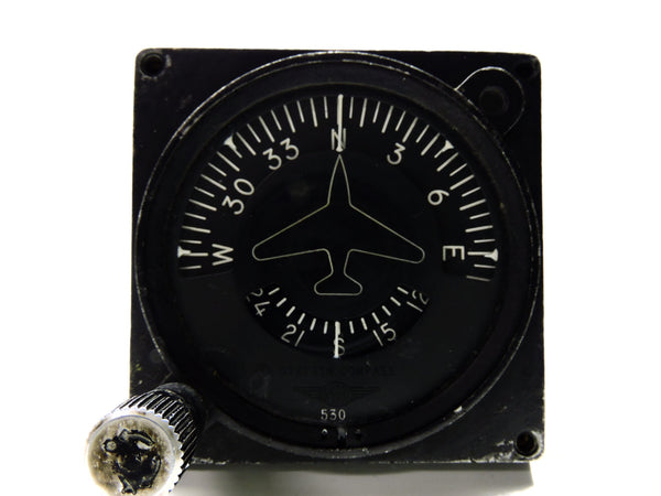 Gyrosyn Induction Compass / Directional Indicator Sperry 653894 B-52
