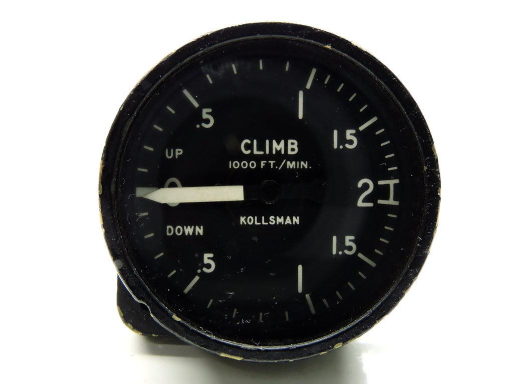 Rate of Climb / Vertical Air Speed Indicator US Navy Lockheed P-3 Orion
