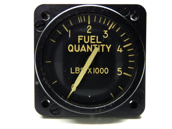 Fuel Quantity Indicator, 5400 lbs,  Minneapolis-Honeywell JG7020A13