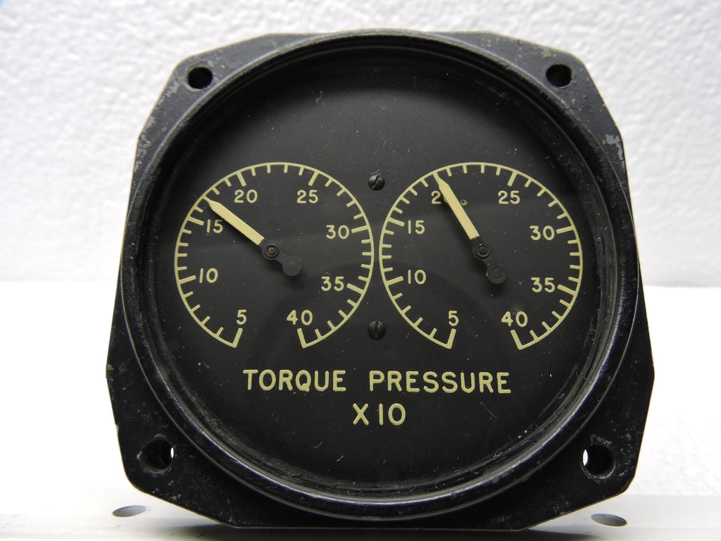 Torque Pressure Indicator, Dual Engine, AJ SAVAGE Bendix 2
