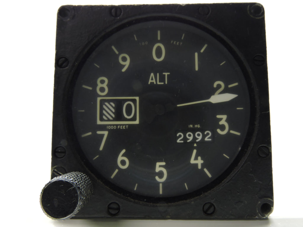 Altimeter MC-3, Astek Instruments, F-4 Phantom II