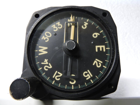 Compass, Magnesyn Remote Indicating , Bendix 10078-1T US Navy F7F