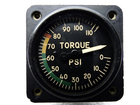 Torque Pressure Indicator US Gauge AW1842 OH-6 Cayuse Loach Helicopter