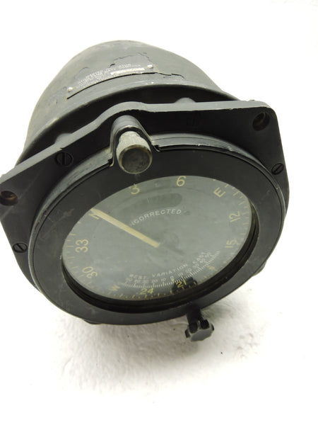 Flux Gate Gyro Master Compass Indicator, AN5752-2, WWII B-17, B-24, B-29