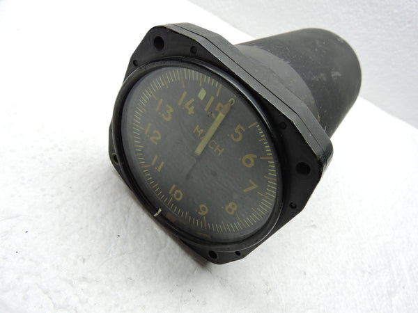Mach Speed Indicator / Machmeter, CF-100 Canuck, CL-13 Sabrejet, RCAF