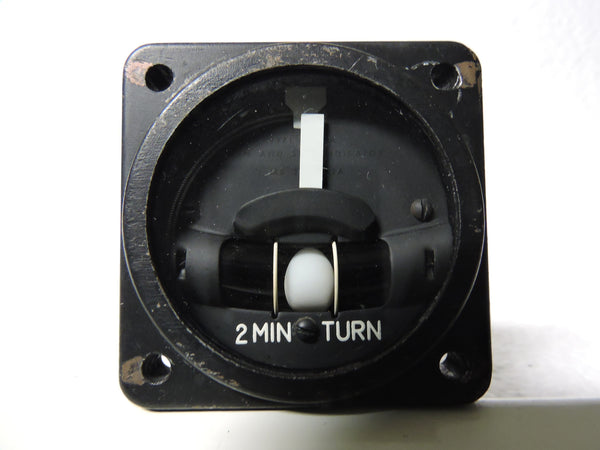 Turn and Slip Indicator 2 Minute Turn, Type MD-4A, MIL-I-7627A
