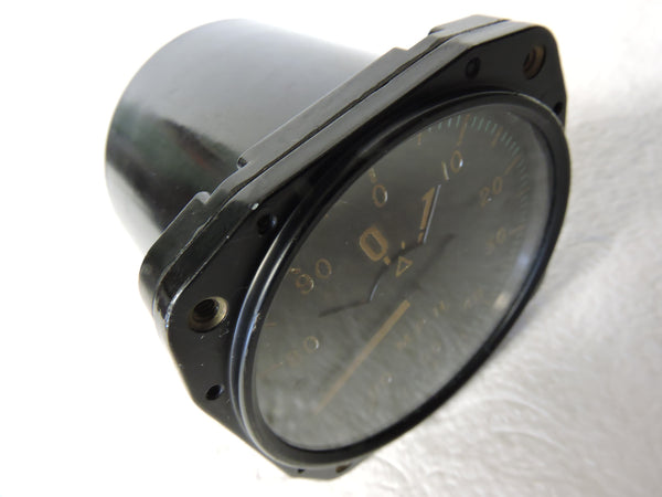 Airspeed Indicator, Sensitive, 700MPH, Army Type F-1A, US Army Air Corps, WWII