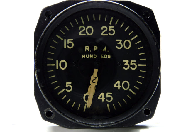 Tachometer, Dual Engine, Electric, Type E-14, AN5530-2 Engines 1 & 2