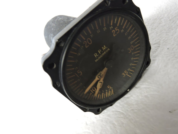Tachometer, Dual Engine, Electric, Type E-10, Engines L & R, Air Corps US Army