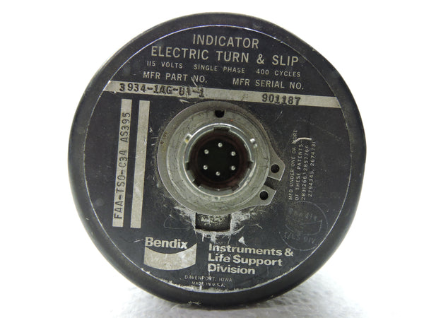 Turn & Slip Indicator, Electric, USAir 1988