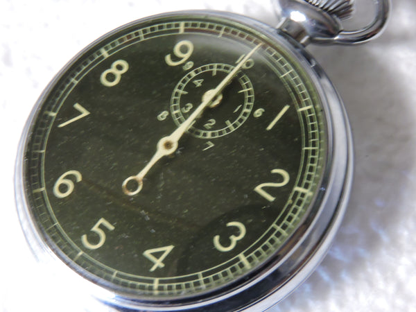 "Stopwatch, Type A-8, Navigation Watch for Ground Speed 1944 ""Jitterburg"""