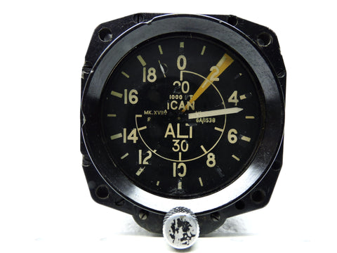 Altimeter, Mk XVIIA, Ref 6A/1538 0-35,000ft, British Royal Air Force