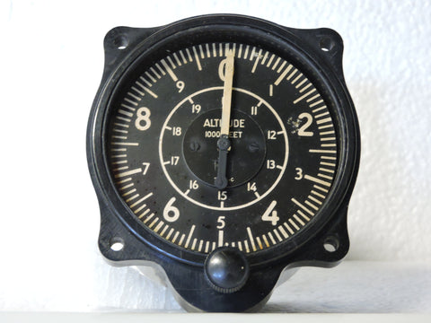 Altimeter, 20,000 ft, US Gauge AW-2 3/4-32-L