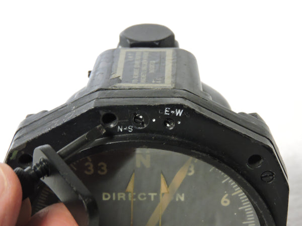 Compass, Magnetic, Type B-20 Vertical Card, WWII, US Army Air Force