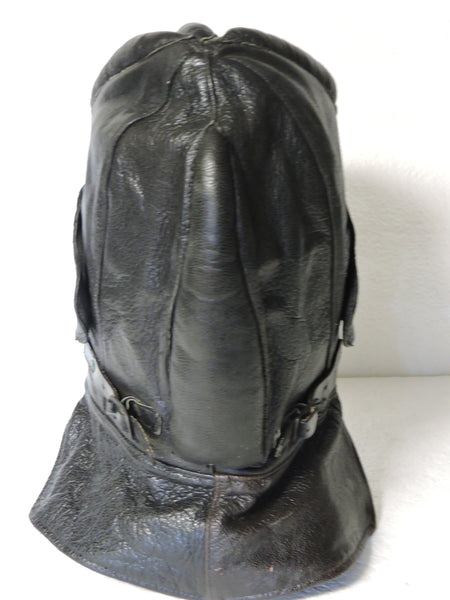 Tankers Helmet, Swedish Army WWII, Palmgrens Leather