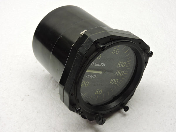 Rate of Climb / Vertical Speed Indicator, USSR 150 meters/second