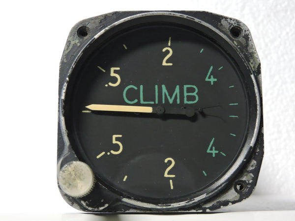 Rate of Climb / Vertical Speed Indicator, 6,000 Ft/Min, US Navy WWII, SB2C Helldiver