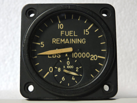 Fuel Quantity Totalizer, 230,000 lbs, B-52 Stratofortress USAF