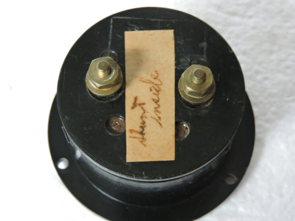 Ammeter, 100mA, WWII Japanese Navy Aircraft