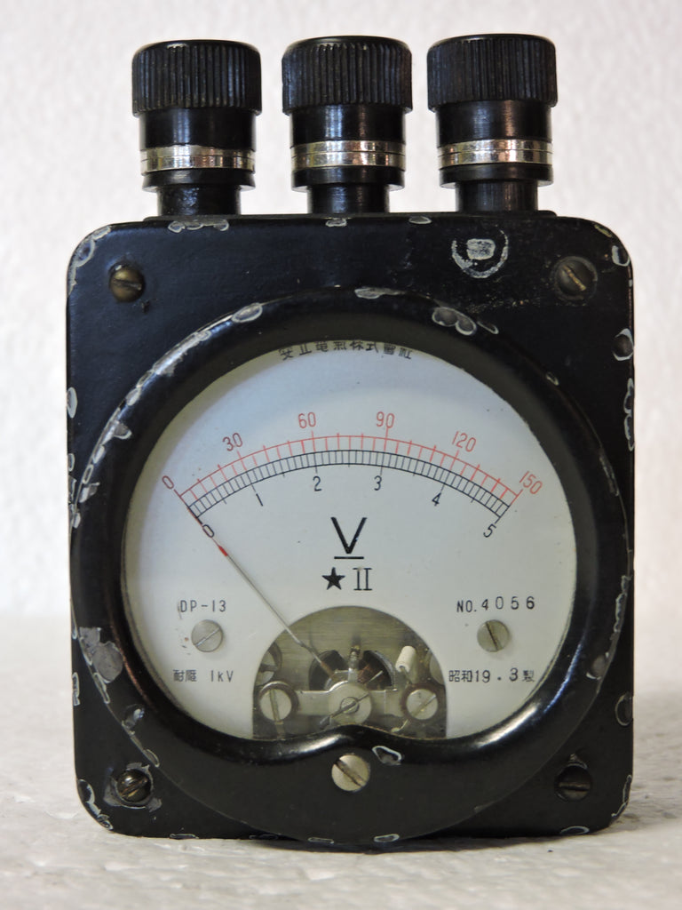 Voltmeter, Test Meter, WWII Japanese Military