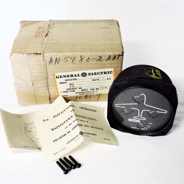 Wheel and Flap Position Indicator Kit, AN-5780-2, US Navy, New Old Stock