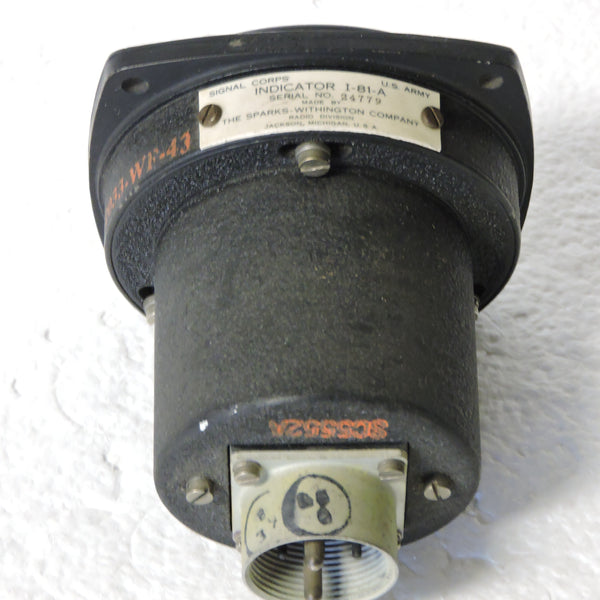 Radio Compass Indicator I-81-A Sparks of SCR-269-G and AN/ARN-7