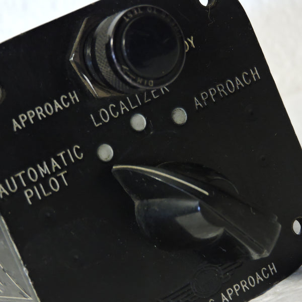 Autopilot Selector Switch Panel Type N-1, USAF E-4 System,, C-130, 658421