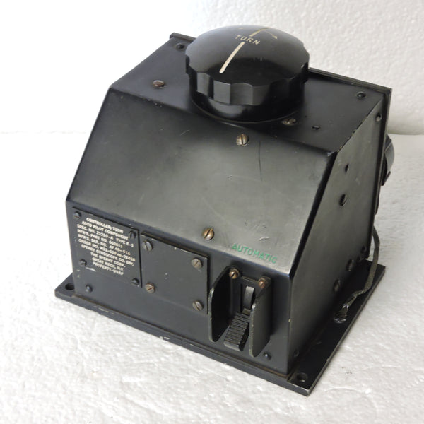 Autopilot Turn Controller, B-47, USAF Type E-1 Sperry 662611
