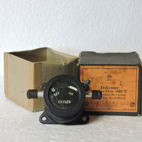 Oxygen Flow Indicator, MK II, British Royal Air Force, 1942