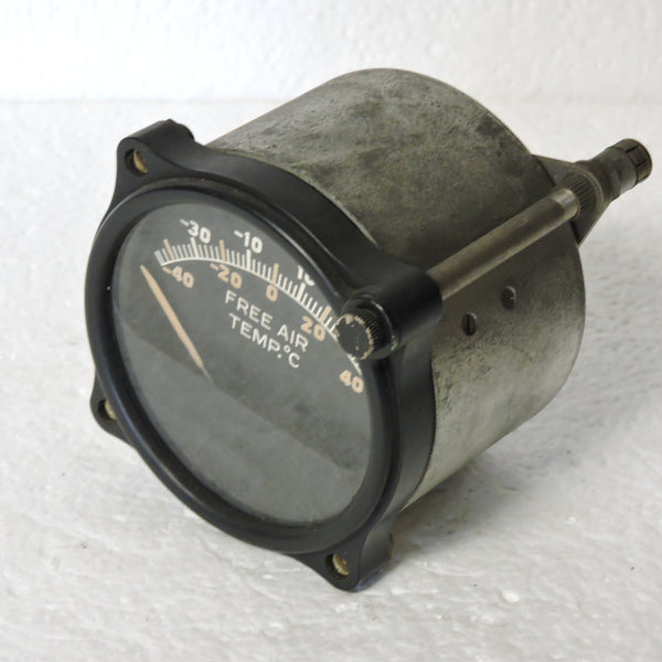 Free Air Temperature Indicator, Type C-8 US Army Air Corps Weston 728 T-20