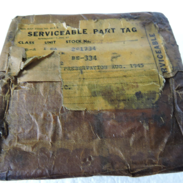 Airborne Interphone/Radio Jack Box, BC-334 US Army Air Force