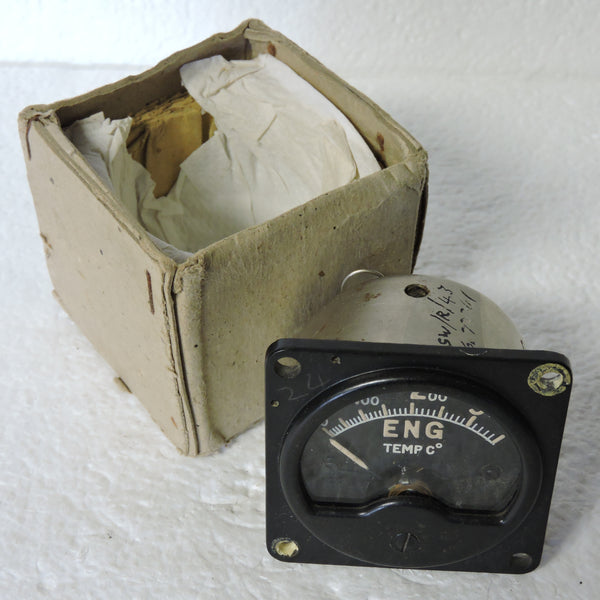 Engine Temperature Indicator, 0-350deg C, Mk I, 6A/620 RAF Air Ministry