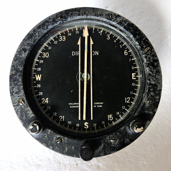 Compass, Direction Indicator, Kollsman Type 488C-01-615 Poly-Plane Compensator