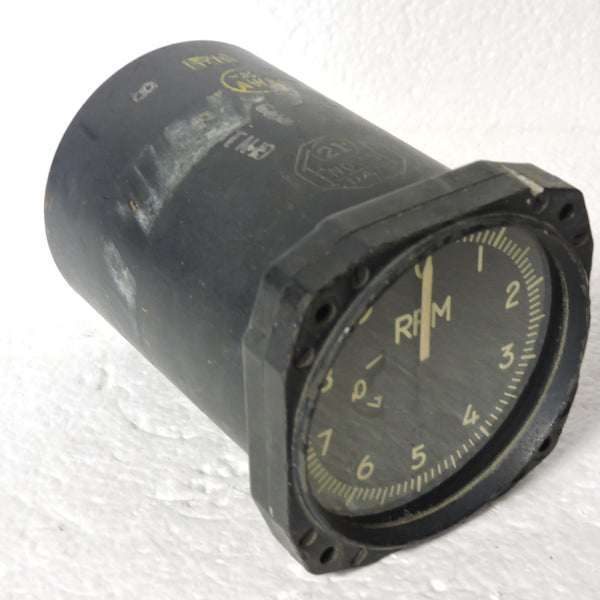 Tachometer, Sensitive, Electric, US Navy, 88-I-2385-100 AD Skyraider