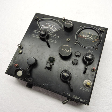 Control Unit C-4, of ARN-7 Automatic Radio Compass, B-17, B-24, B-29