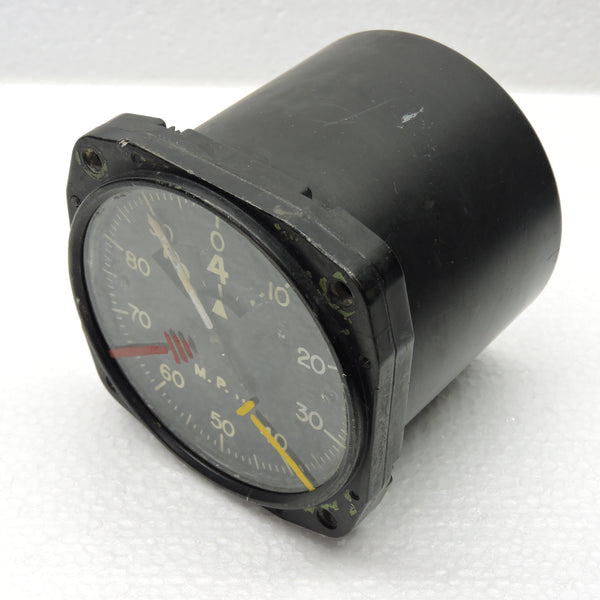 Airspeed Indicator, Sensitive, 700MPH, Army Type F-1A, US Army Air Force, WWII