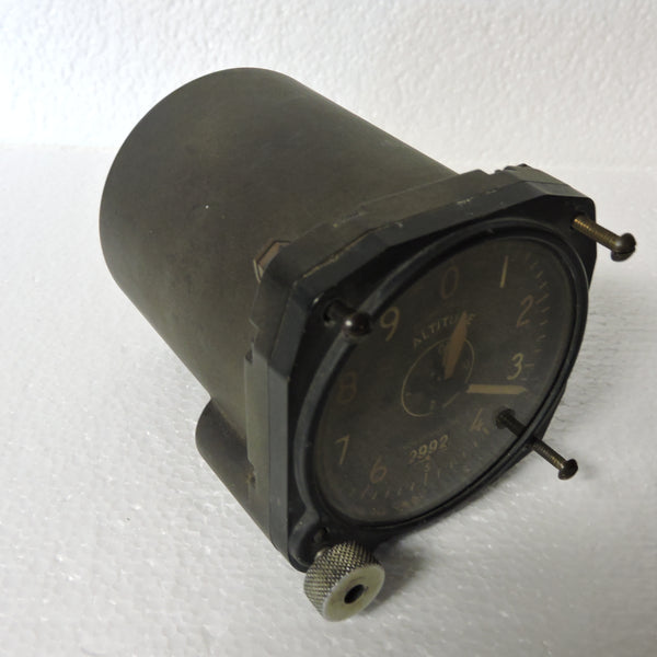 Altimeter, Sensitive, Type C-14, 35,000 ft, Air Corps US Army WWII B-17, B-24, P-38, P-51