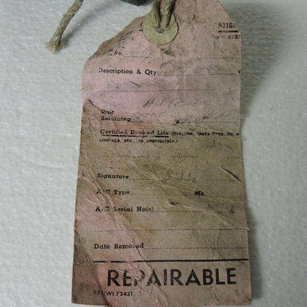 Oxygen Regulator Assembly, Mark XIA, Ref 6D/751, Spitfire IX, RAF WWII