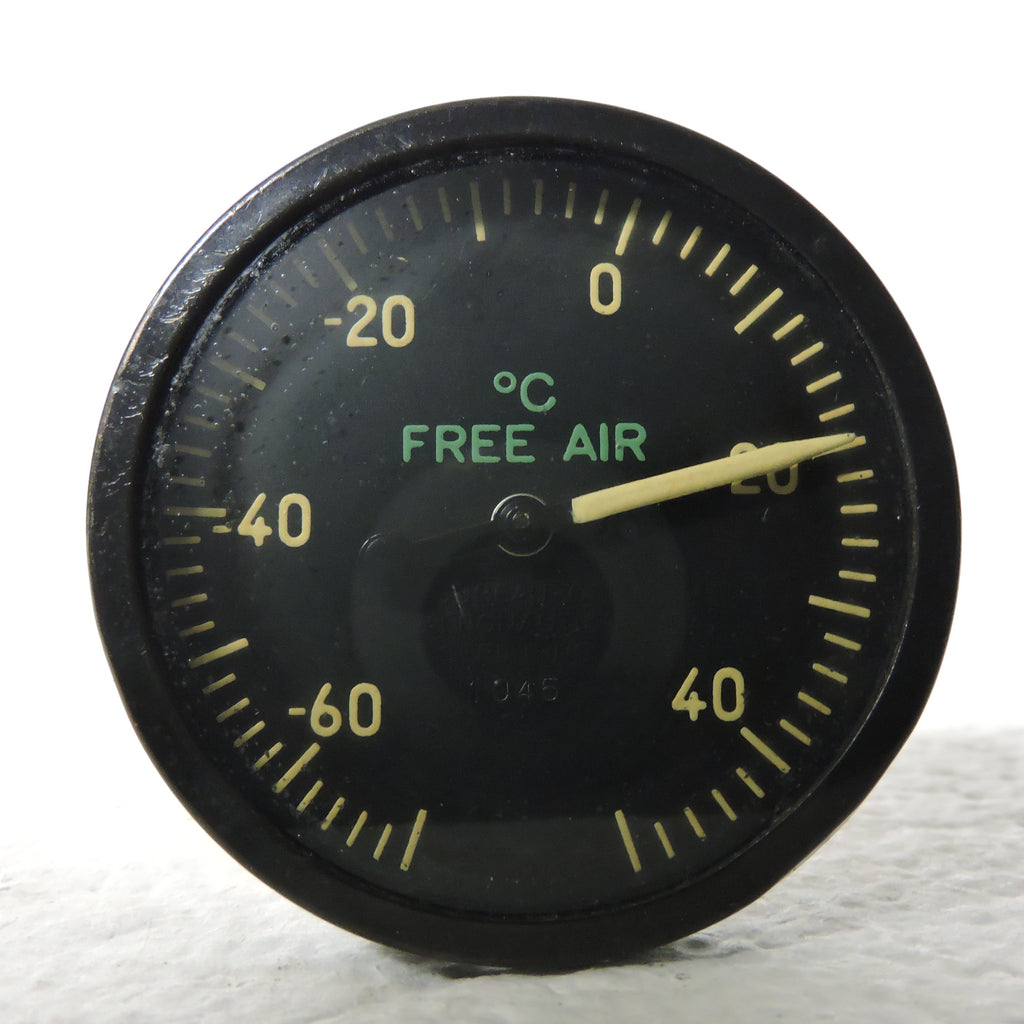 Free Air Temperature Indicator, Direct Reading, US Navy R-88-T-1560