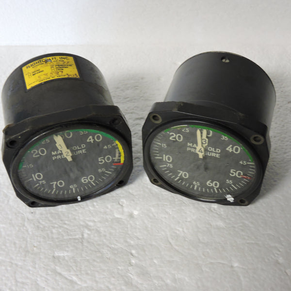 Manifold Pressure, Dual, Set for 4-Engine Aircraft, AN5770-2, D-11