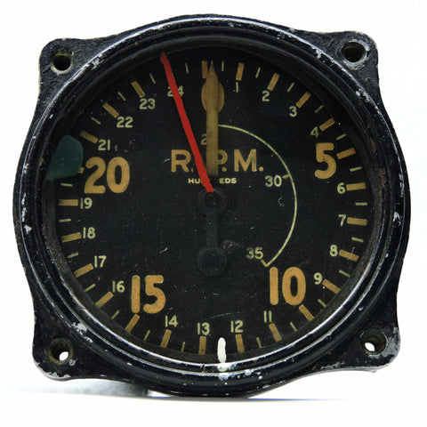 Tachometer, Chronometric, Type C-9A, WWII