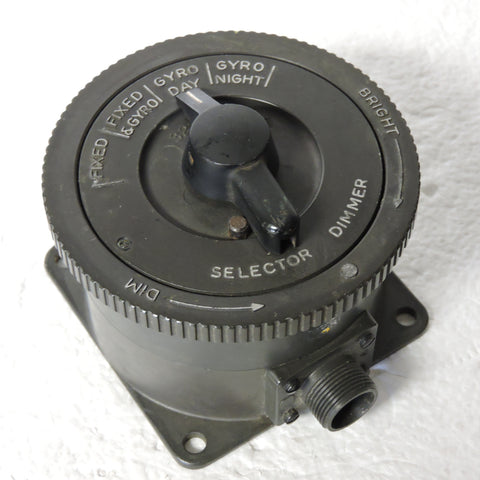 Gun Sight Dimmer Switch, Mark 21, for Mark 18 Gun Sight US Navy
