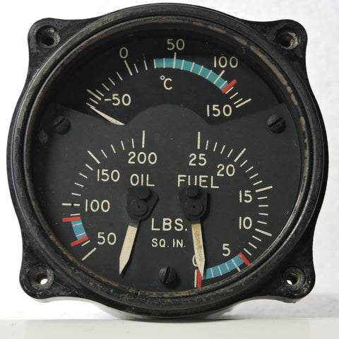 Engine Gauge Unit (Triple), AN5773-1
