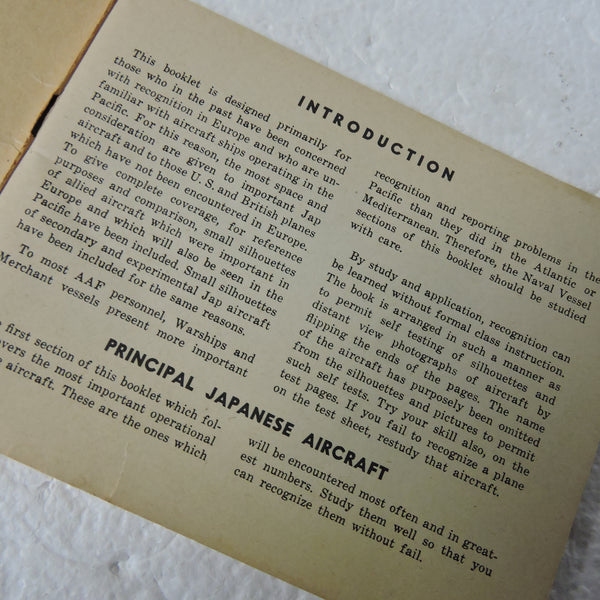Recognition Manual for the Pacific and Far East US Army Air Forces June 1945 45-50-5