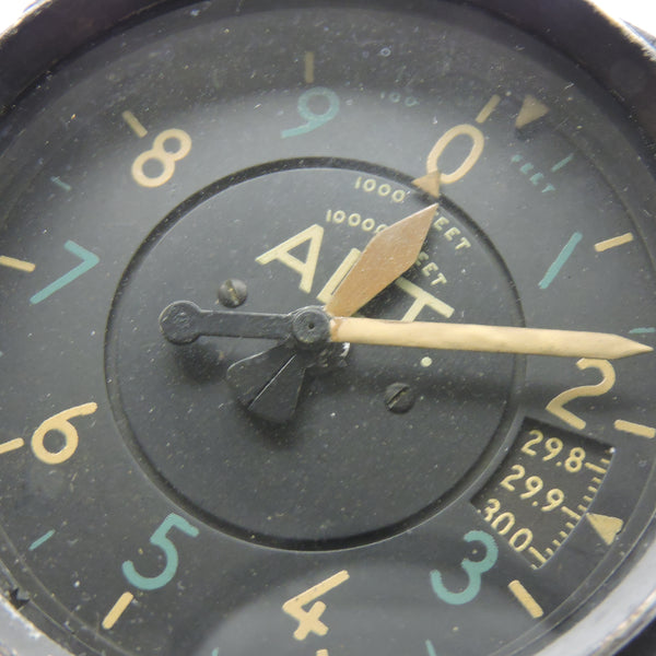 Altimeter, Sensitive, Type C-13, 35,000 ft, US Navy WWII 671K-05