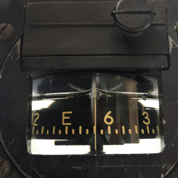 Compass, Magnetic Direct Reading, US Navy Mark VIII, AN5732-1 with Mounting Bracket