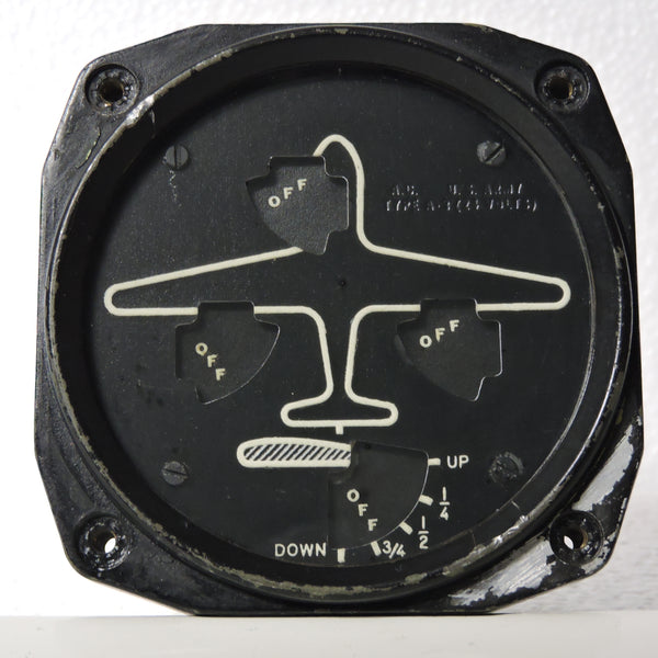 Wheel and Flap Position Indicator, Type A-3 1942 Air Corps US Army